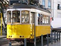 Tramway de Lisbonne images stock