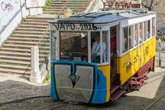 Tramway de Lisbonne Photos libres de droits