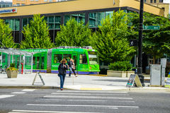 Tramway de Seattle Images libres de droits