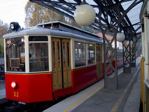 Tramway de Superga à Turin Italie Images stock