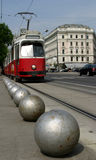 Tramway de Vienne images libres de droits