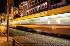 Tramway departure Royalty Free Stock Photo