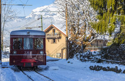 Tramway du Mont Blanc Stock Photos