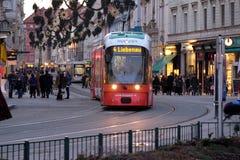 Tramway in Graz, Austria Royalty Free Stock Photo