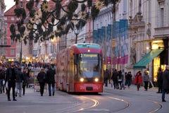 Tramway in Graz, Austria Stock Images