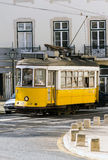 Tramway historique 28, Lisbonne Photographie stock