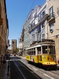 Tramway in Lisbon Stock Photography