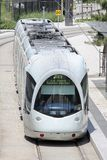 Tramway in Lyon, France Stock Image