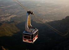 Tramway maximale de Sandia Photographie stock