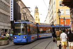 Tramway - MUNICH - Germany Royalty Free Stock Images
