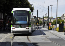 Tramway in Nantes Stock Photography