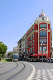 Tramway in Nice Royalty Free Stock Photography