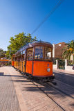 Tramway at Port de Soller Royalty Free Stock Photo