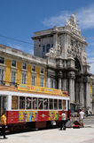 Tramway in Portugal Stock Photography