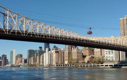 Tramway, Roosevelt Island Tramway, NYC, NY, USA stock photo