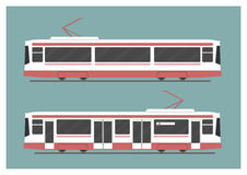 Tramway royalty free illustration
