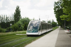 Tramway in Strasbourg Stock Images