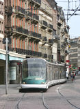 Tramway in Strasbourg, France Stock Image