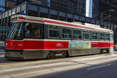 Tramway Toronto de TTC photo libre de droits