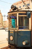 Tramway, Trieste to Opicina. View of the tram, Tramway - Trieste to Opicina Stock Photo