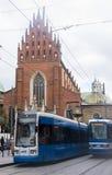 tramways Images libres de droits