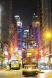Tramways de Hong Kong Photo libre de droits