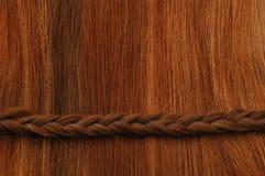 Trança do cabelo horizontal Fotografia de Stock