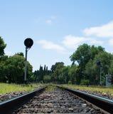 Tran铁路 免版税图库摄影