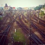 Tran-Bahnen lizenzfreie stockfotografie