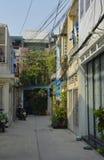 Tran Hung Dao Alleys arkivbilder