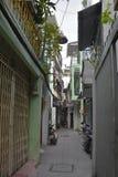 Tran Hung Dao Alleys Photographie stock libre de droits