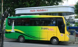 Tran Jogja Bus photographie stock libre de droits