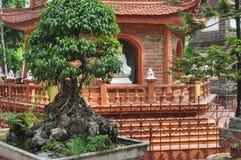 Tran Quoc Hanoi-Pagode lizenzfreie stockfotos