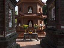 Tran Quoc Pagoda royaltyfria foton