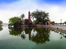 Tran Quoc Pagoda. Fotografie Stock Libere da Diritti