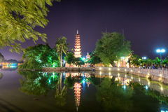 Tran Quoc Pagoda Foto de Stock