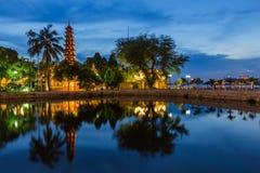 Tran Quoc Pagoda Royalty-vrije Stock Fotografie