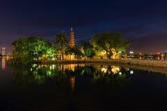 Tran Quoc Pagoda Royalty-vrije Stock Afbeelding