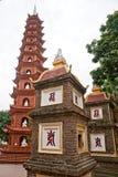 Tran Quoc Pagoda in Hanoi, Royalty Free Stock Photo
