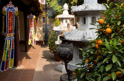 Tran Quoc Pagoda in Hanoi Royalty Free Stock Image