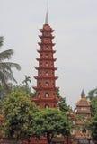 Tran Quoc pagoda in Hanoi Royalty Free Stock Photo