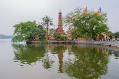 Tran Quoc Pagoda Stock Photos