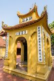 Tran Quoc Pagode in Hanoi lizenzfreie stockfotos