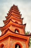 Tran Quoc Pagode in Hanoi, Vietnam lizenzfreies stockfoto