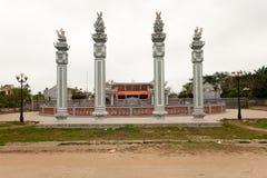 Tran's Temple royalty free stock photo