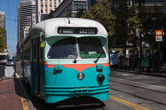 Tran in San Francisco Royalty Free Stock Image