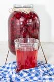 Tranbärfruktsaft arkivfoto