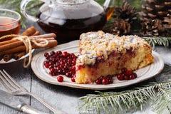 Tranbärkaka för jul och nytt år Cristmas bröd royaltyfri bild