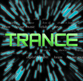 Trance Collage2 Stock Photography