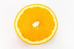 Tranche d'orange Images stock